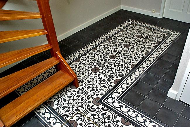 Deco cementtegels inspiratie - Tegelvloer patroon ...